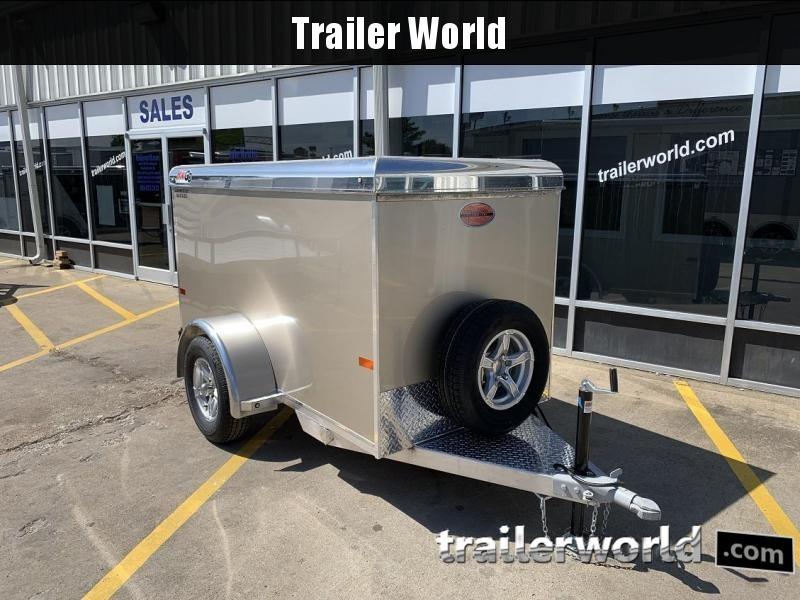 2020 Sundowner 4' x 8' MINI GO Enclosed Aluminum Cargo Trailer in Ashburn, VA