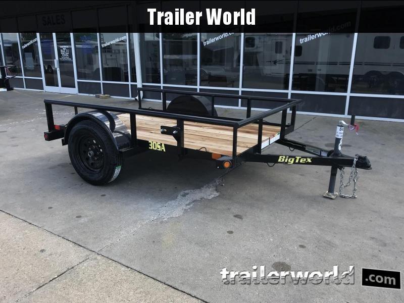 2019 Big Tex 30SA 5' x 8' Utility Trailer