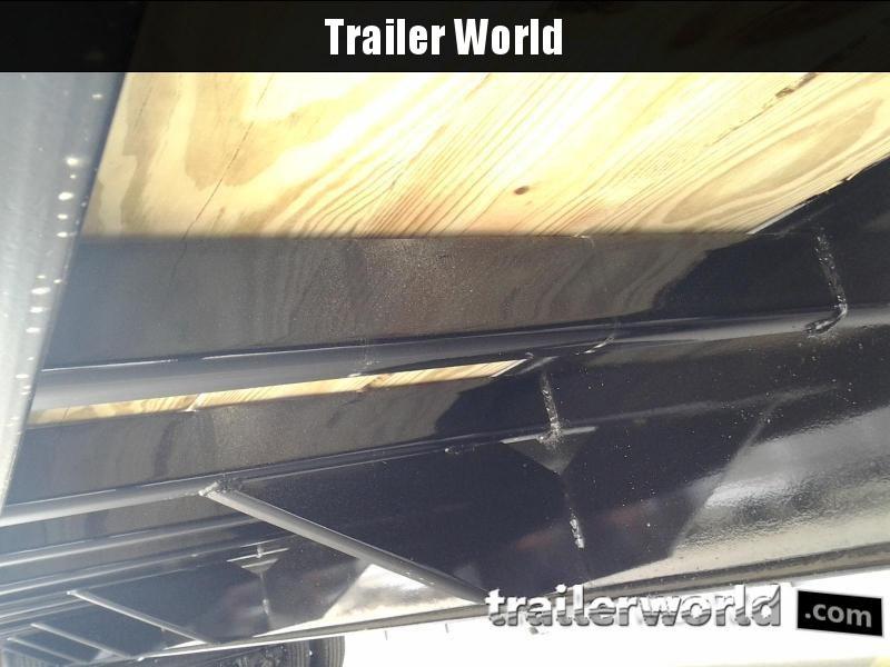 2019 Big Tex 25GN-25' + 5' Gooseneck Trailer 25900 GVWR MEGA Ramps
