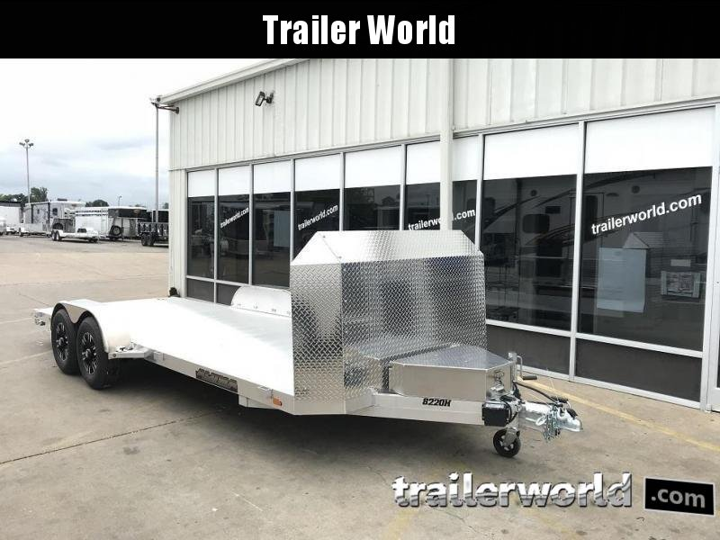 2020 Aluma 8220H Aluminum Open Car Trailer Anniversary Edition