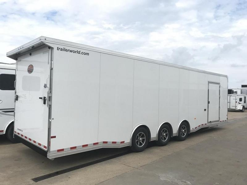 2018 Sundowner 32' Spread Axle Car Aluminum Race Trailer