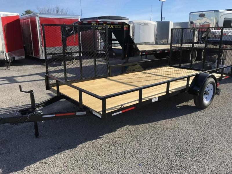 2018 Lawrimore 14' with 2 Gates Utility Trailer