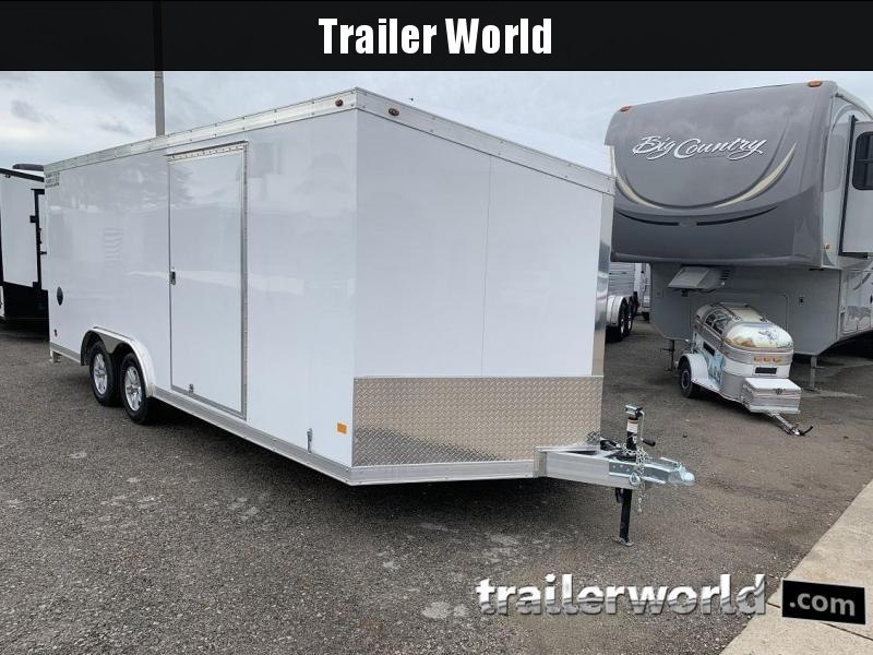 2019 Haulmark HAUV8.5x20WT2 8.5' x 20' x 6.5' Aluminum Enclosed Car Trailer in Ashburn, VA