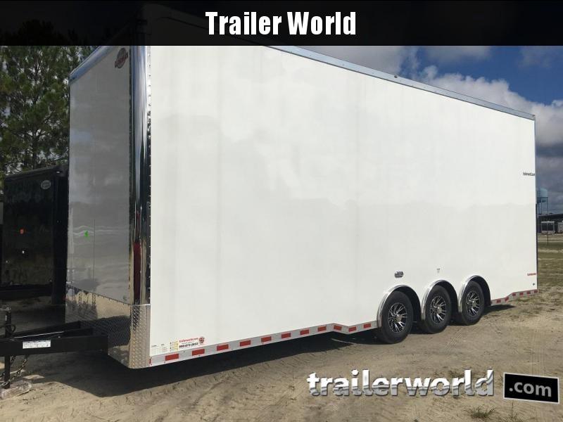 2020 Cargo Mate 28' Stacker Race Trailer