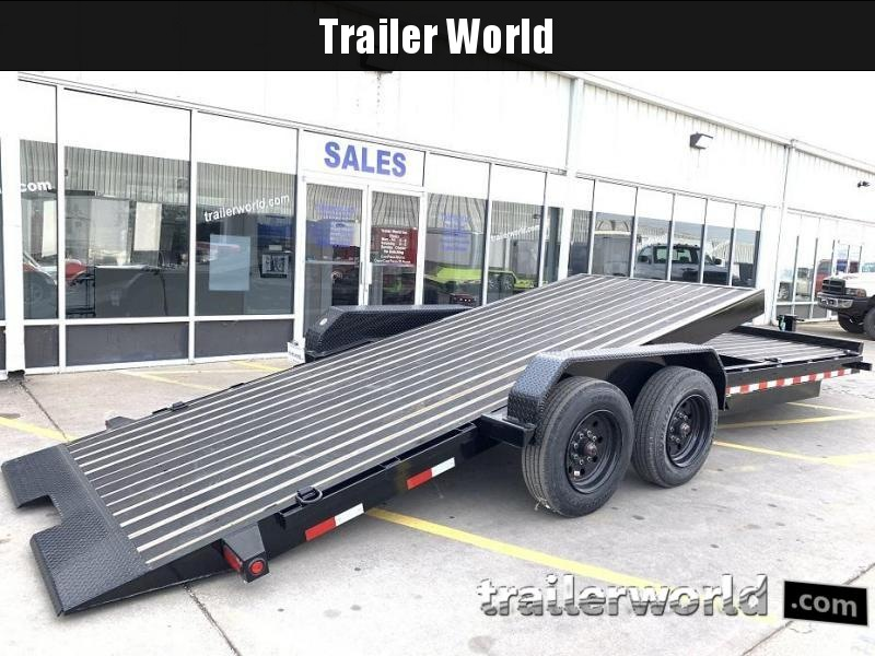 2019 Big Tex Trailers 16TL-22' 16' Tilt Bed + 6' Front Equipment Trailer 8 Ton