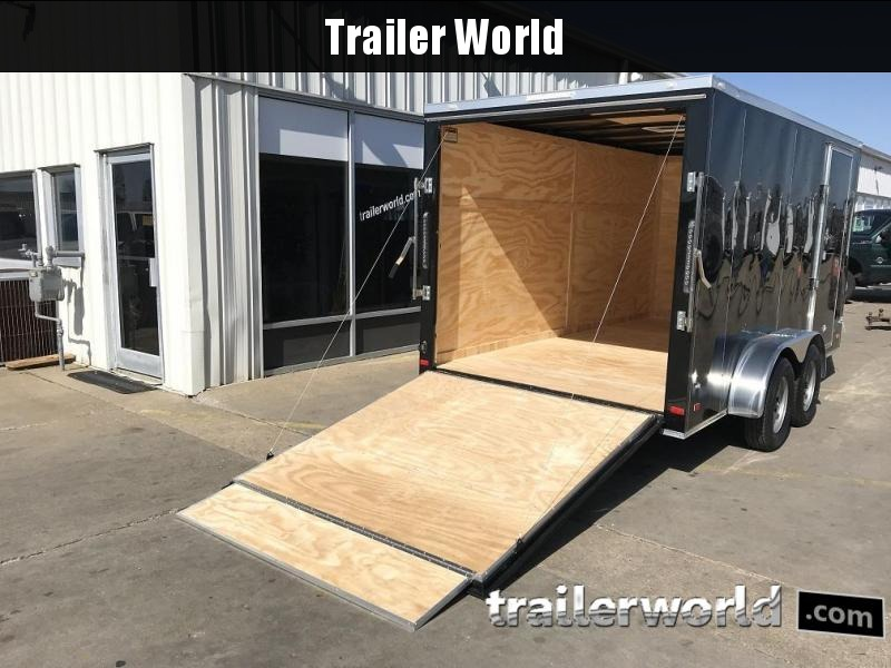 2019 CW 7' x 14' x 6.3' Vnose Enclosed Cargo Trailer
