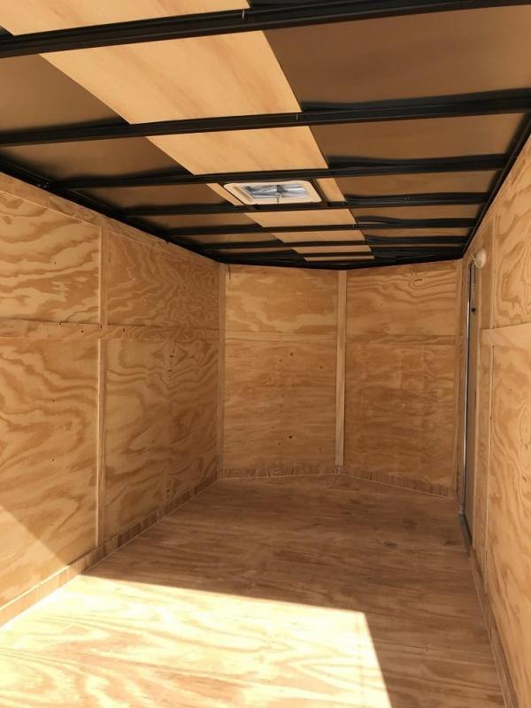 2019 CW 7' x 14' x 6.3' Vnose Enclosed Cargo Trailer