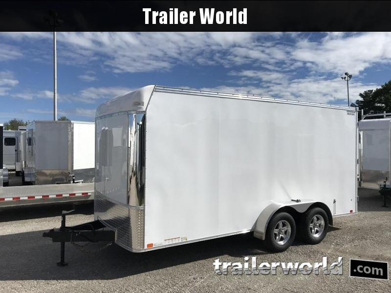 2019 United UXT 7' x 16' x 6.5' Enclosed Commercial Grade Cargo Trailer