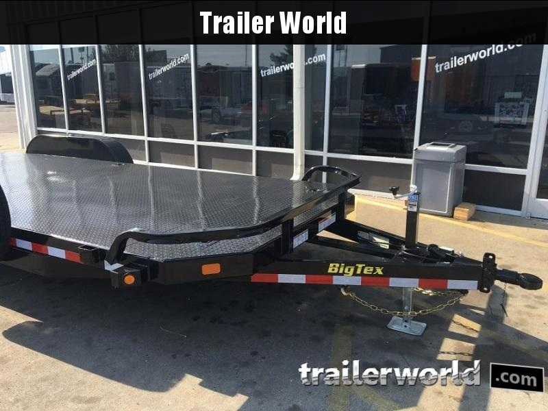 2019 Big Tex 10DM - 20' Steel Deck Open Car Hauler Trailer