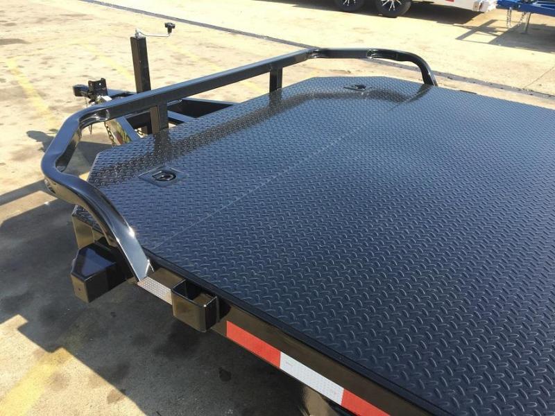 2019 Big Tex 10DM - 20' Steel Deck Open Car Hauler Trailer