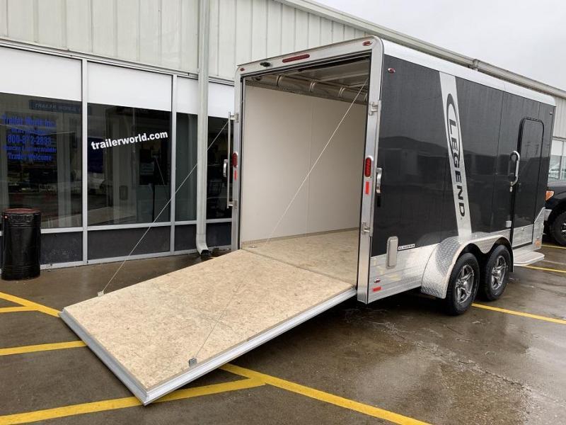 2019 Legend 717DVN 17' Vnose Deluxe Aluminum Enclosed Cargo Trailer