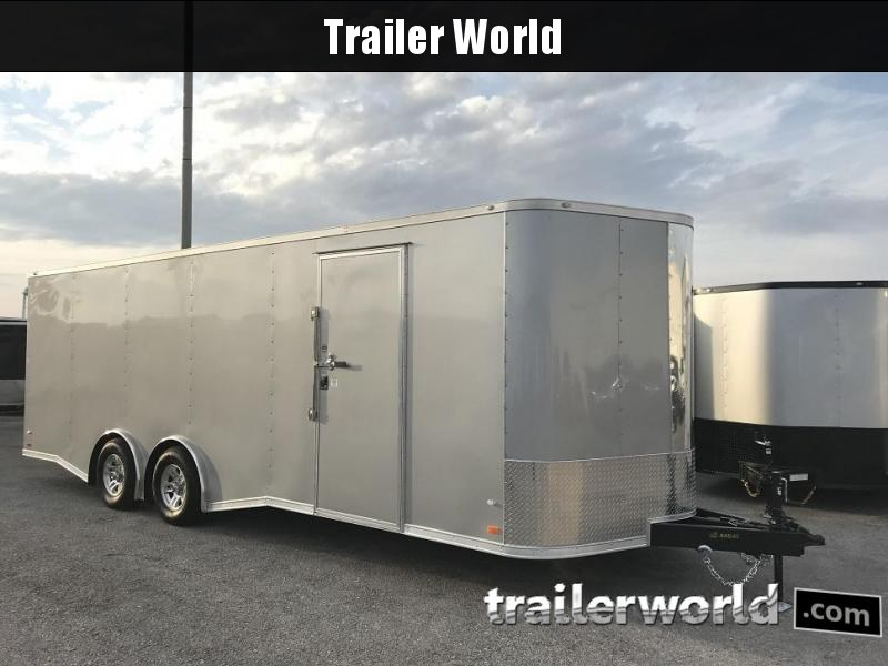 2019 CW 24' Enclosed 7' tall Car Trailer 10k GVWR