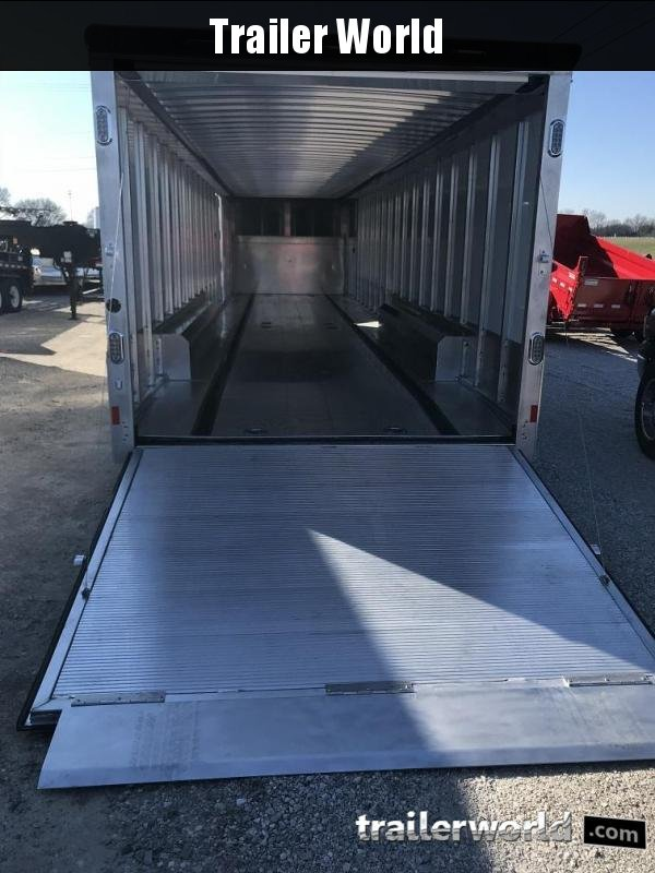 2019 Sundowner 48' Aluminum 2 Car Enclosed Gooseneck Car Trailer