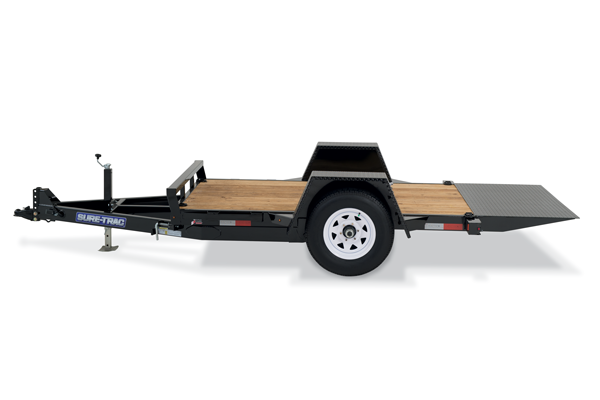 2019 Sure-Trac 10' Tilt Bed Equipment Trailer