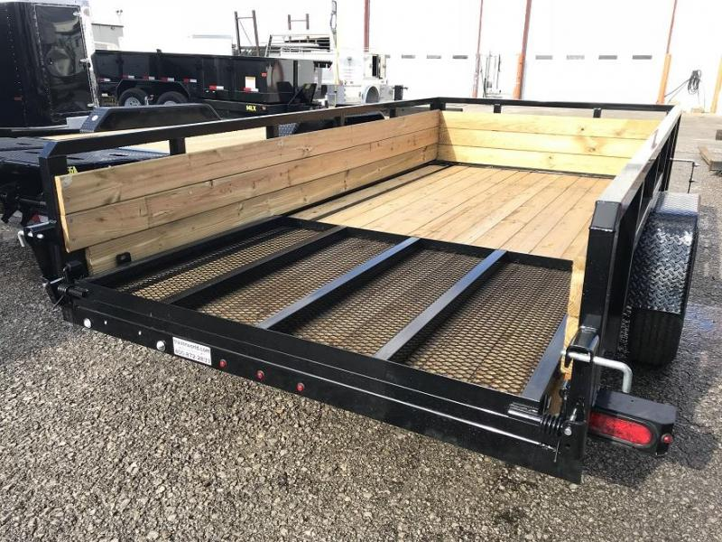 2018 Sure-Trac 6 X 12 Tube Top Three Board 3K Idler