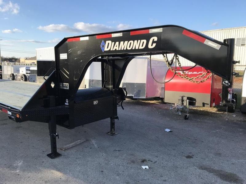 2019 Diamond C FMAX212 35' + 5' Gooseneck Trailer 25900GVWR HYD DISC Brakes