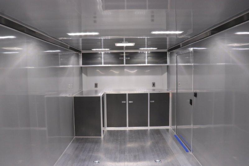 2019 inTech  28' Lite Aluminum Enclosed Car / Race Trailer