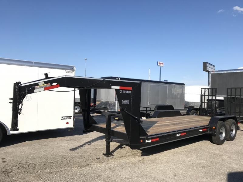 2019 Betterbuilt 22' Low Profile Gooseneck Trailer 14k GVW