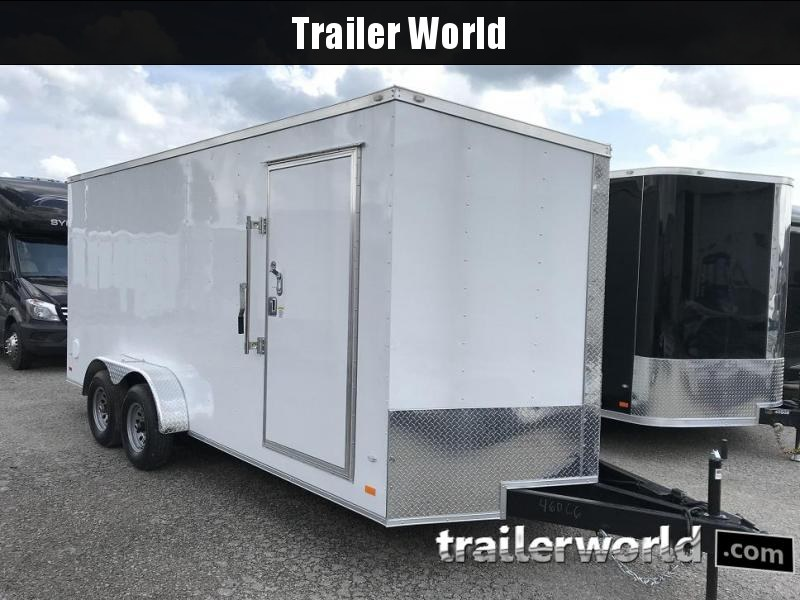 2018 CW 7' x 18' x 7' Vnose Enclosed Cargo Trailer 10k GVWR