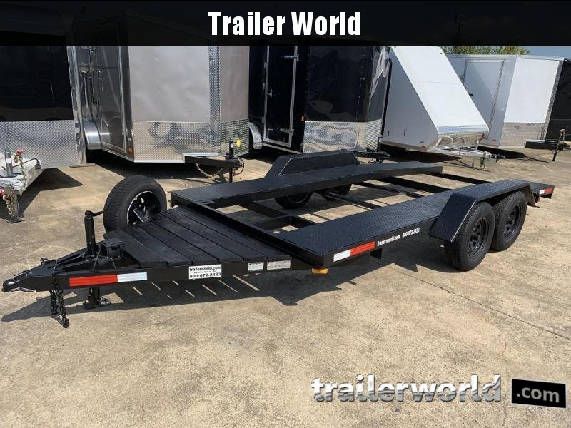 2008 Dively Open Center Open Car Hauler Flatbed Trailer