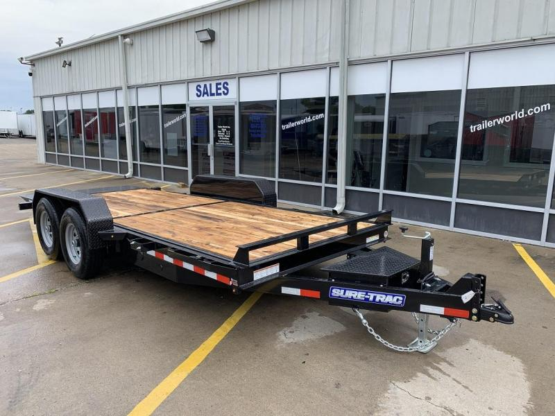 2020 Sure-Trac 18' Tilt Bed Equipment Trailer 14k GVWR