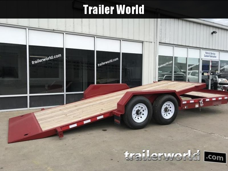 2018 Midsota TB-20' Split Deck Tilt Equipment Trailer