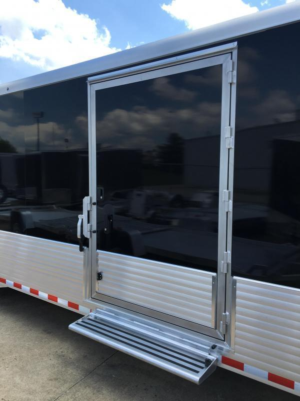 2019 Sundowner 38 Aluminum Gooseneck Enclosed Car Trailer Trailer
