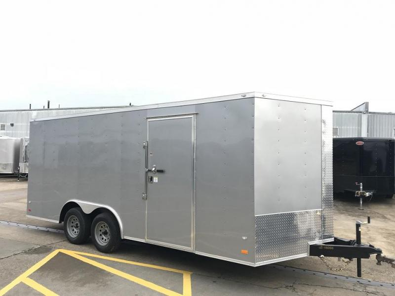 2019 CW 18' Enclosed Vnose Car Trailer 7k GVWR