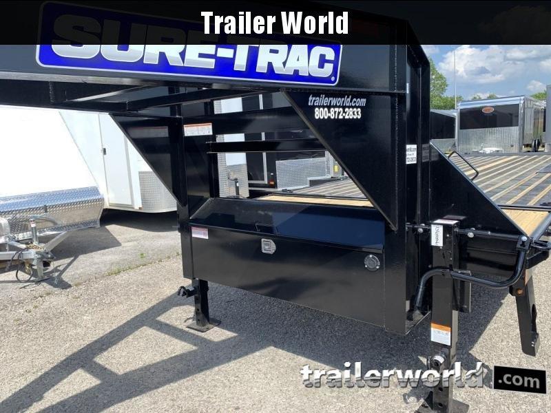 "2019 Sure-Trac 102"" x 22'+4' Deckover Power Tilt Gooseneck 17.6K GVWR"