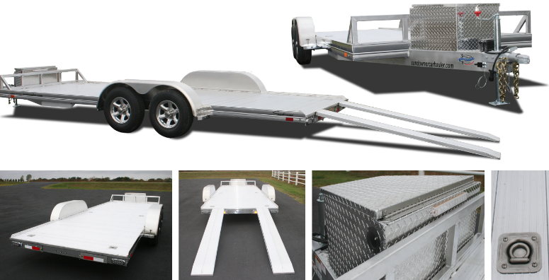 2019 Sundowner 4000AP - 24' Aluminum Open Car Hauler Trailer