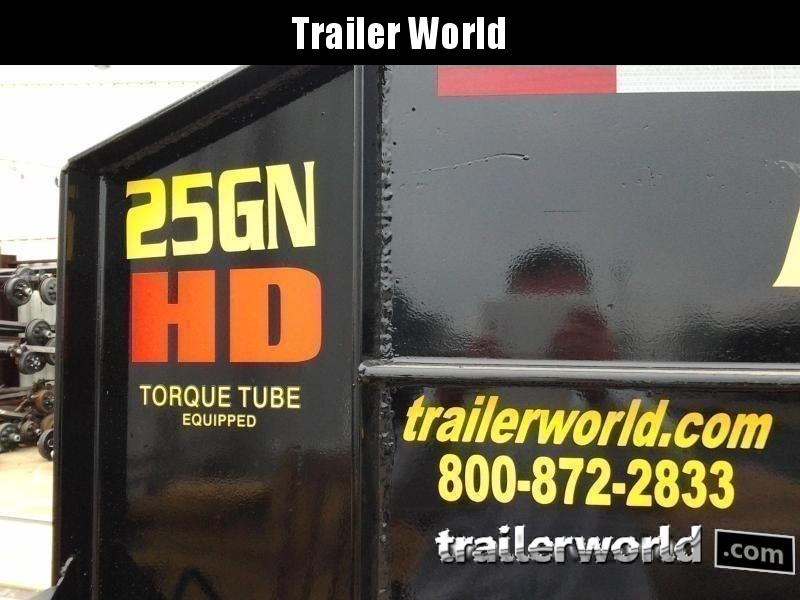 2020 Big Tex 25GN-25' + 5' Gooseneck Trailer 25900 GVWR MEGA Ramps