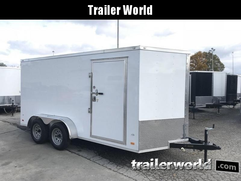 2019 CW 7' x 14' x 6.5' Vnose Enclosed Cargo Trailer