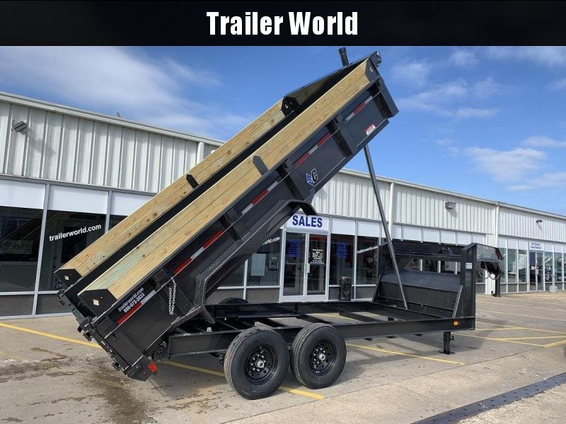 2019 Diamond C LPT 16' Gooseneck Dump Trailer Low Profile Commercial Grade