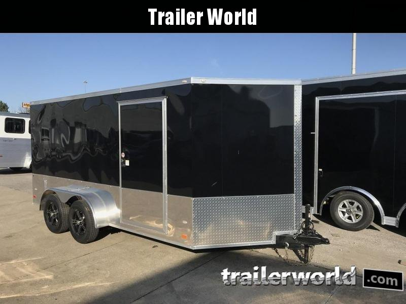 2018 CW 7' x 14' x 6.5' Vnose Enclosed Cargo Trailer