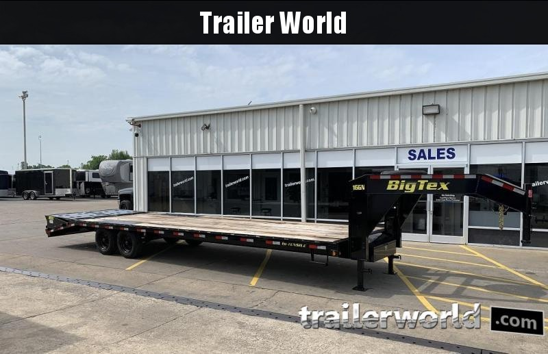 2019 Big Tex Trailers 16GN 30' Equipment Trailer 17.5k GVWR