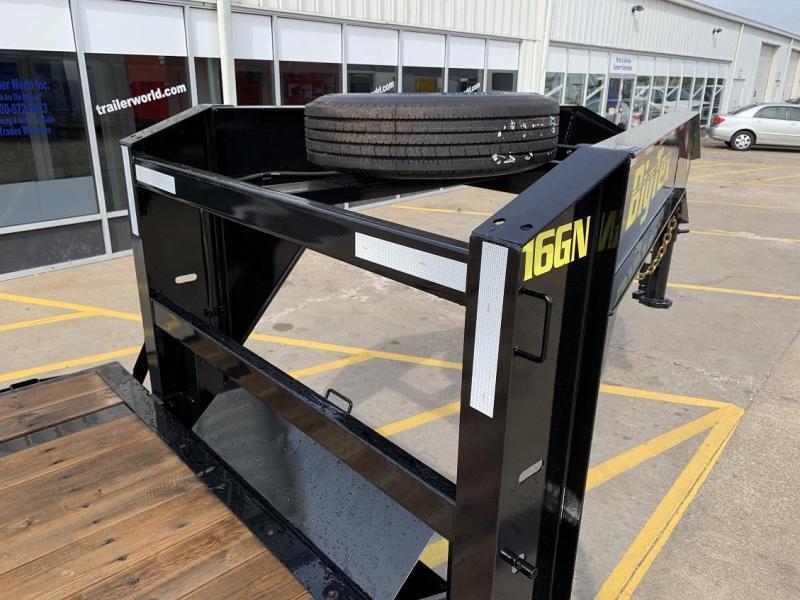 2019 Big Tex Trailers 16GN 30' Equipment Trailer 17.5k GVWR