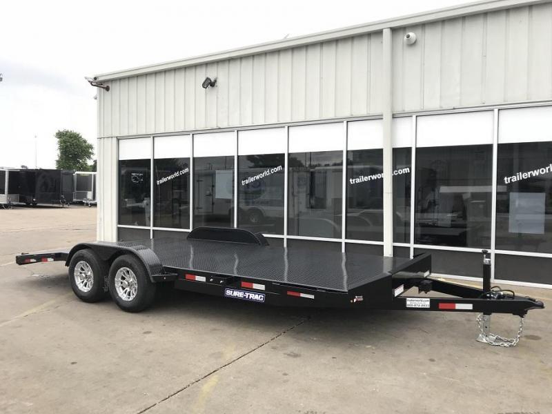 2018 Sure-Trac 20' Steel Deck Car Hauler 10k GVWR