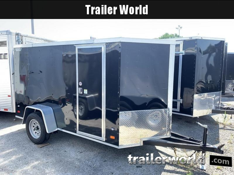 2020 CW 5' x 10' x 5.5' Vnose Enclosed Cargo Trailer Ramp Door