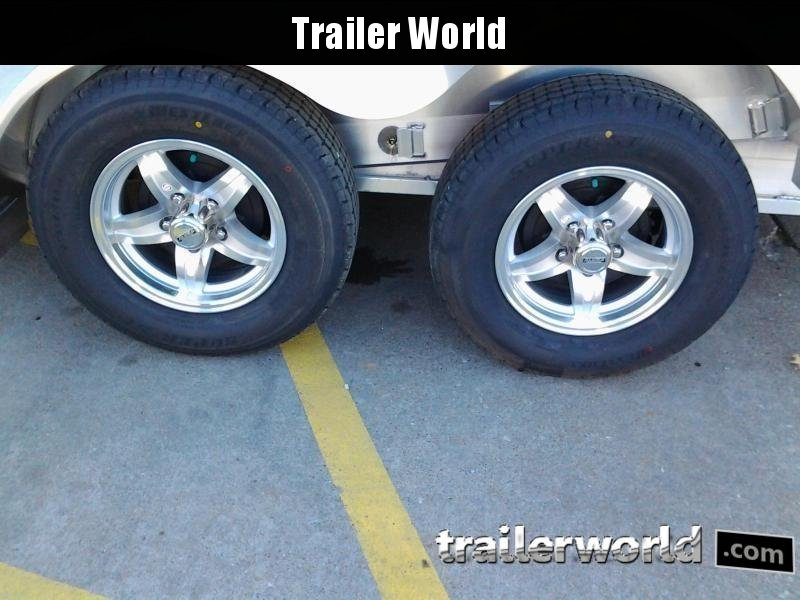 2020 Aluma 8216 Tilt Bed Aluminum Open Car Hauler Trailer
