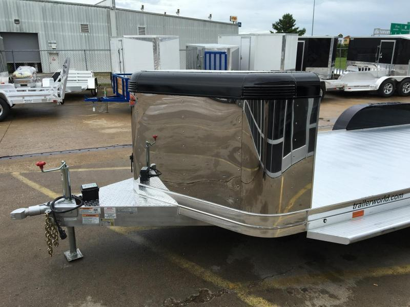 2019 Sundowner ULTRA Aluminum Open Car Hauler Trailer 22' 10k GVWR