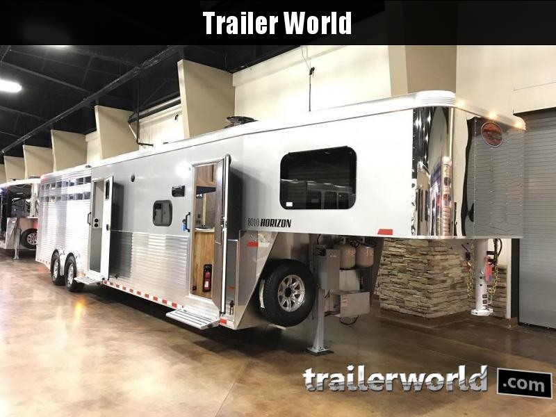 2019 Sundowner 8010 Horizon Livestock Trailer w/ Living Quarters