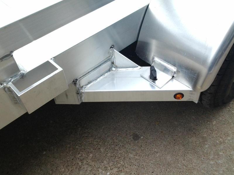 2016 Aluma 7816B  Aluminum Open Car Hauler