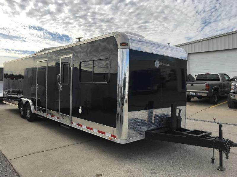 2012 Vintage 32' Toy Hauler Race Trailer