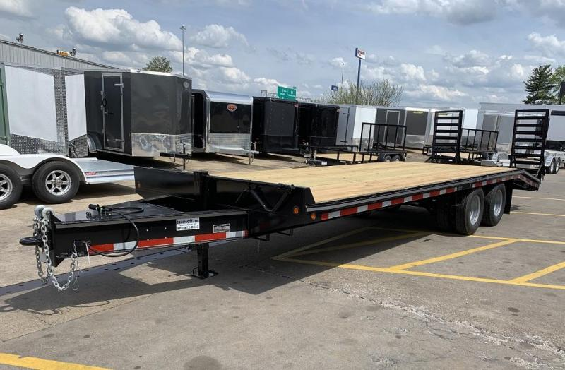 2019 Better Built 20' + 5'  10 Ton Pintle Hitch Equipment Trailer