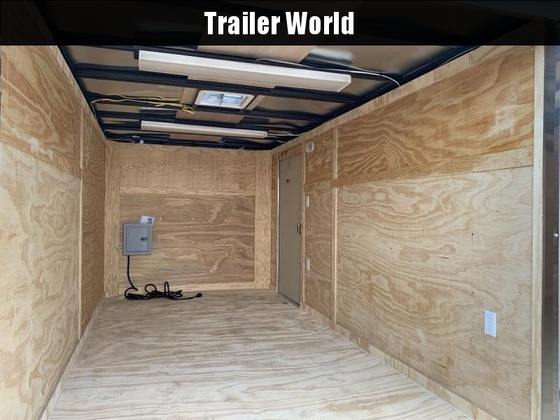 2019 Covered Wagon 7' x 14' Commercial Grade Enclosed Cargo Trailer