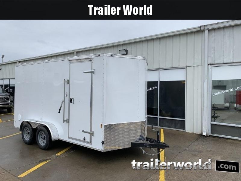 2019 Continental Cargo 7' x 14' x 6.10' Vnose Enclosed Cargo Trailer