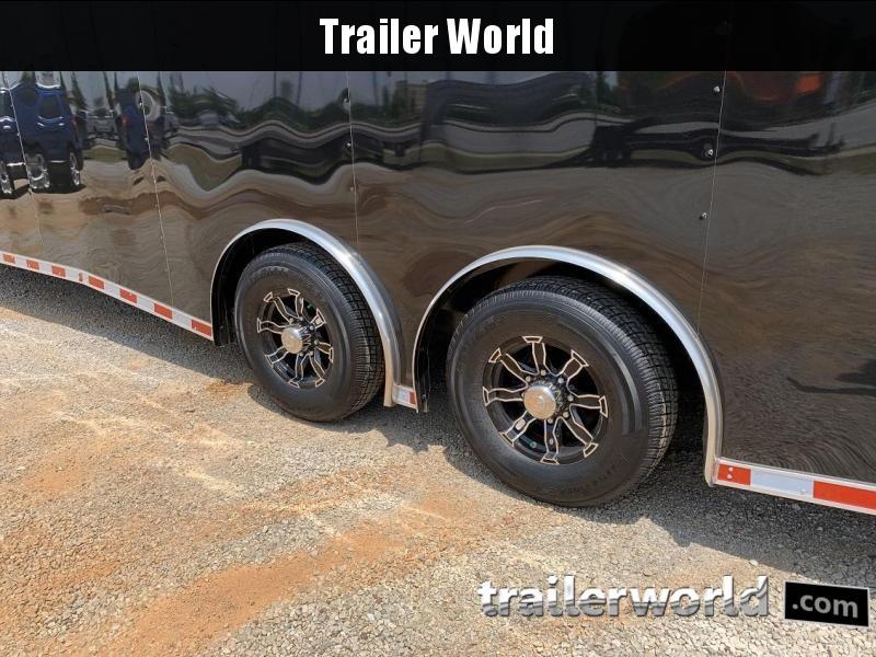 2019 CW 28' Enclosed Car Trailer Spread Axle 14k GVWR