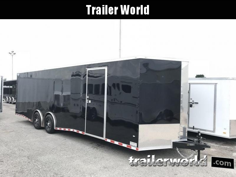 2019 CW 28' Enclosed Car Trailer Spread Axle 14k GVWR in Ashburn, VA