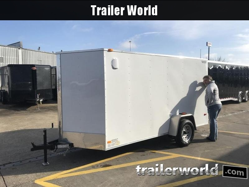 2019 CW 6' x 12' Vnose Enclosed Cargo Trailer