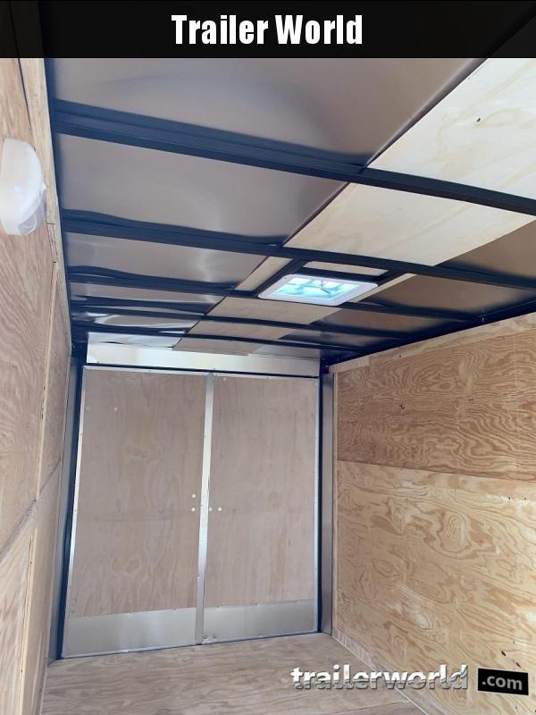 2019 CW 7' x 16' x 7' Vnose Enclosed Cargo Trailer